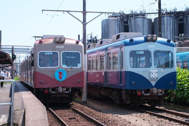 銚子電鉄2000形20200429仲ノ町6