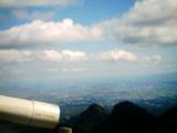 榛名富士の頂上から