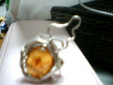 オレンジベリルの指輪