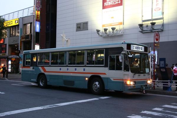 朱色の電車:西武バス - livedoor Blog(ブログ)