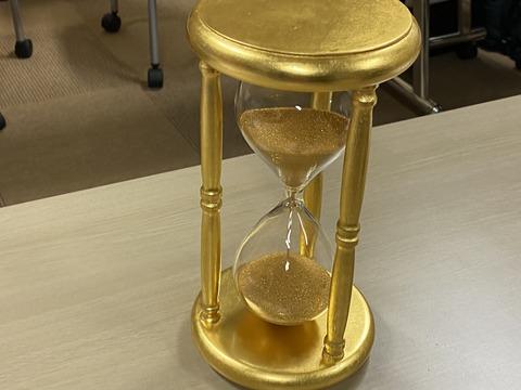 純金砂時計