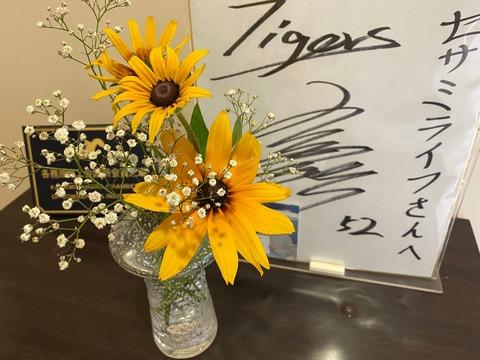 安藤さんの花