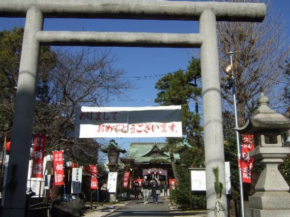 201001桜神宮初詣01