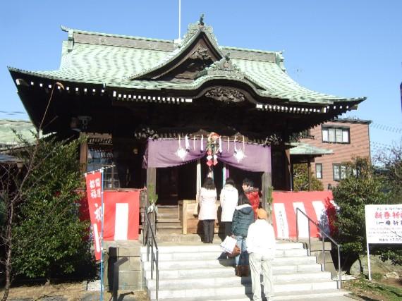 201001桜神宮初詣02