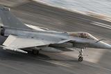 成和台基地から発進する多用途戦闘機IMF‐28