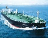 原油を満載した北石のタンカー