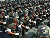 凱旋帰国を果たした政経監督庁附属独立防衛任務軍の将兵