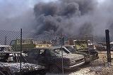 西皇嘉市の市街地は壊滅した
