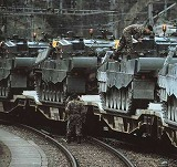 北部島嶼奪回を準備する国防総軍部隊
