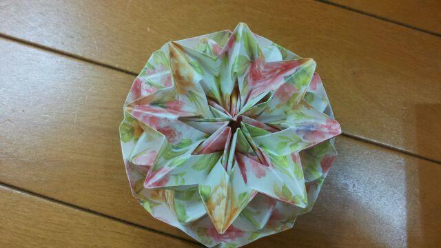 ハート 折り紙:折り紙 万華鏡 作り方-blog.livedoor.jp