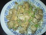 チキンのおろしソース煮
