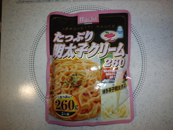 業務スーパー たっぷり明太子クリーム260g78円(税抜)