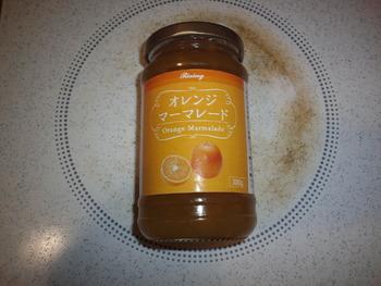 業務スーパー オレンジマーマレードジャム330g97円(税抜)