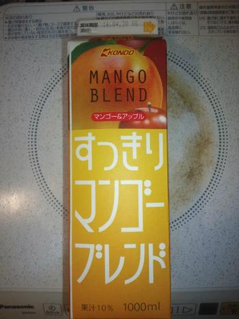 業務スーパー すっきりマンゴーブレンドジュース1L70円(税抜)