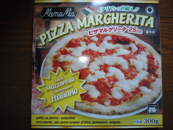 業務スーパー ピザマルゲリータ25センチ300g298円(税抜)