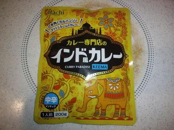 業務スーパー ハチ食品 インド風カレー200g78円(税抜)