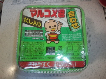 業務スーパー マルコメ君 合わせみそ750g137円(税抜)