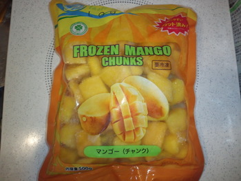 業務スーパー 冷凍マンゴー(チャンク)500g297円