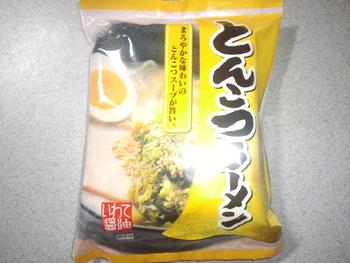 業務ス-パー 袋めん約28円 とんこつラーメンを食す
