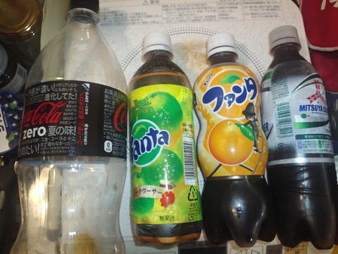 1.5Lの炭酸飲料ペットボトル、炭酸抜けを防ぐ方法。