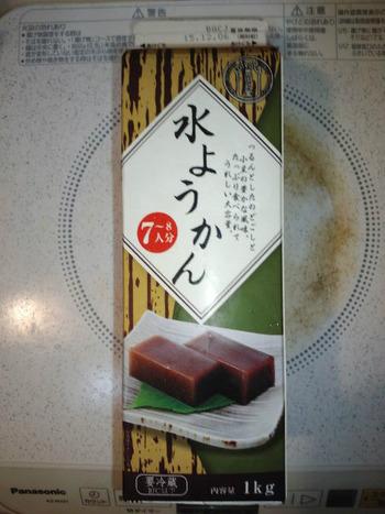 業務スーパー 水ようかん1kg195円