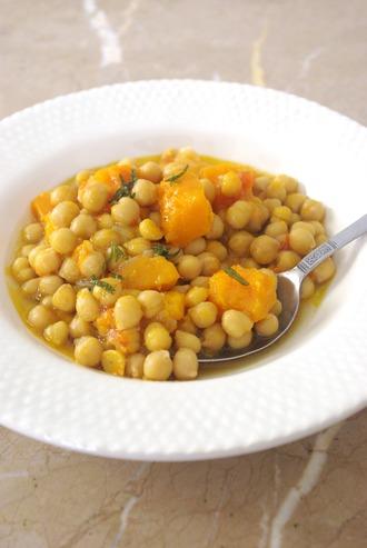 2014.09.30 chickpeas & butternut squash stew