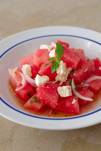 2020.07.19 watermelon & feta salad