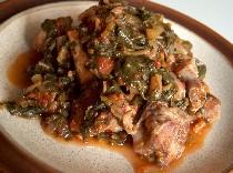purslane& pork