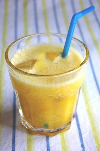 2010.06.26 melon & orange smoothie