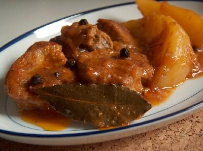 drunken pork & potato stew