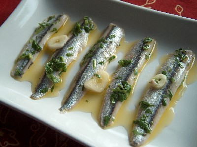 2008.10.10 marinated anchovies