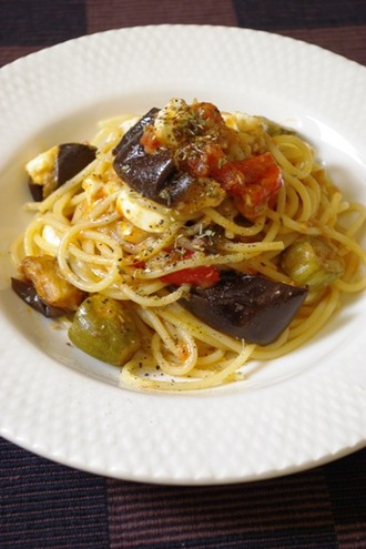 2012.06.28 ratatouille spaghetti