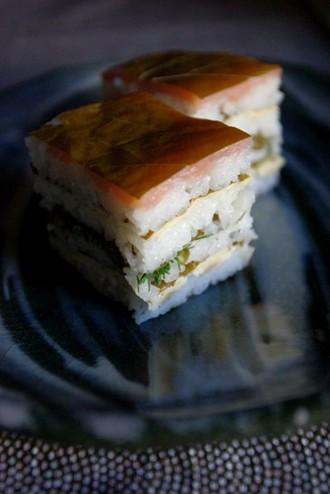 2009.10.09 vine leaf sushi
