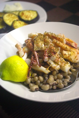 2015.12.08 squid & beans1