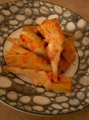artichoke kimchi
