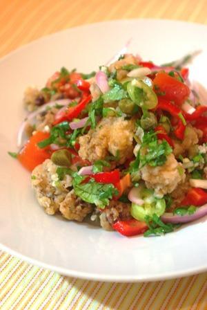 2016.10.09 calamari salad