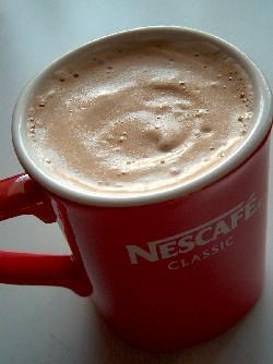 hot nescafe