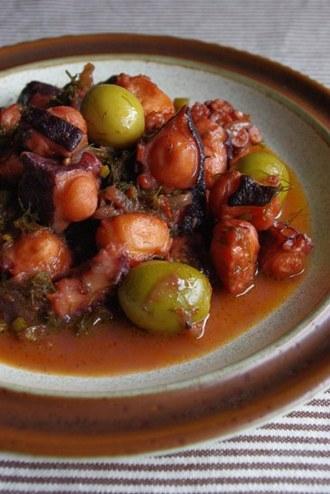 2010.04.21 octopus & fennel stew