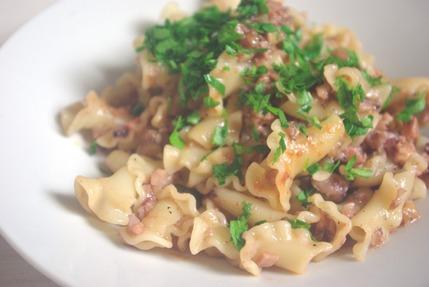 2016.11.21 octopus & aubergine ragu pasta2