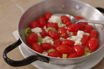 2021.07.26 cherry tomato saganaki1