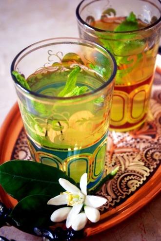2013.04.07 mint tea with orange blossoms