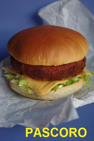 2009.12.10 pastitsio croquette burger1