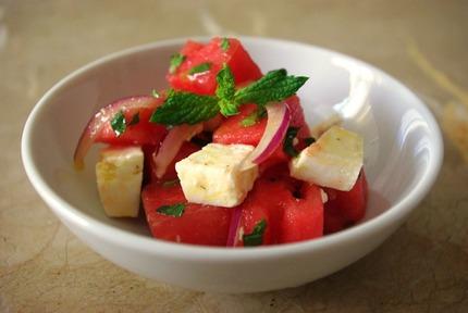 2013.07.23 watermelon salad