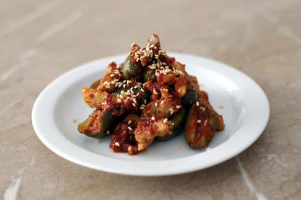 2019.10.23 pork with olive kimchi2