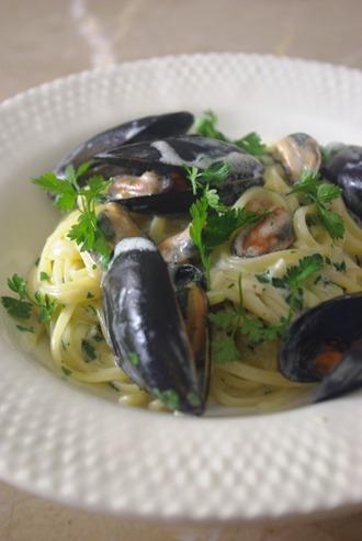2016.03.13 mussel pasta