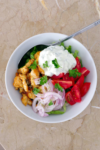 2021.05.18 greek chicken rice bowl