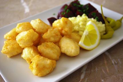 2014.03.26 salt cod loukoumades