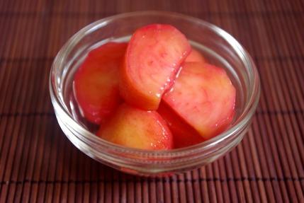 2017.06.25 pickled peach