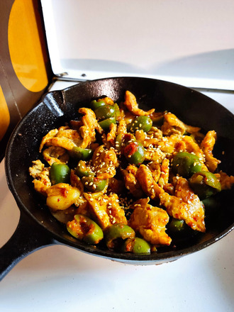 2021.10.09 pork & plive kimchi
