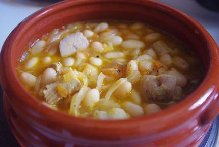 2015.03.14 orange pork & beans1